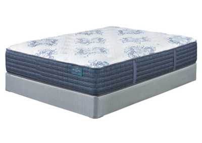 Mt. Dana Firm White Twin Mattress w/Foundation