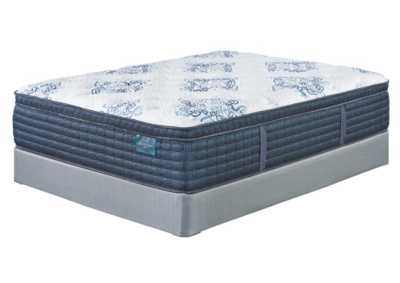 Mt. Dana Euro Top White California King Mattress w/Foundation
