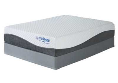Mygel Hybrid 1300 White Full Mattress w/Foundation