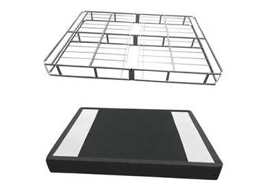 7 Inch Easy Open Boxspring White Twin Foundation