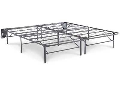 Better than a Boxspring Gray 2-Piece King Foundation
