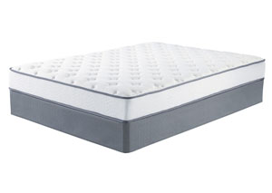 Tori Ltd. White King Mattress w/Foundation