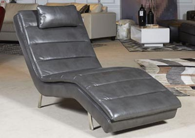 Goslar Gray Chaise