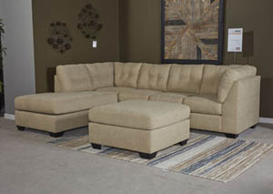 Maier Cocoa Left Facing Corner Chaise Sectional