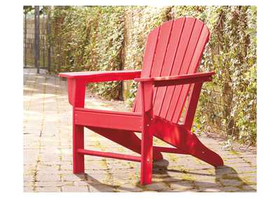 Image for Sundown Treasure Red Adirondack Chair
