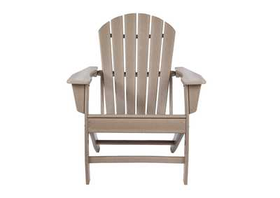 Sundown Treasure Grayish Brown Adirondack Chair
