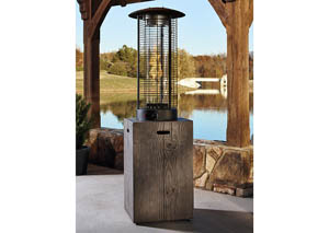 Hatchlands Brown/Gray Patio Heater