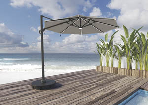 Oakengrove Multi Large Cantilever Umbrella,Outdoor By Ashley