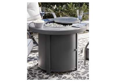 Donnalee Bay Gray Fire Pit Table