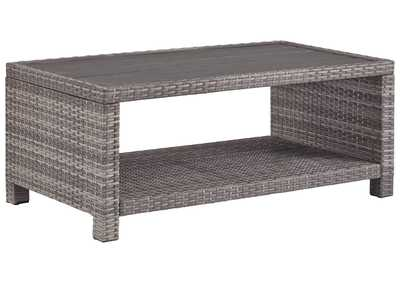 Salem Beach Gray Coffee Table