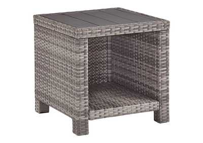 Salem Beach Gray End Table