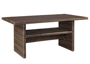 Salceda Wicker Coffee/Dining Table