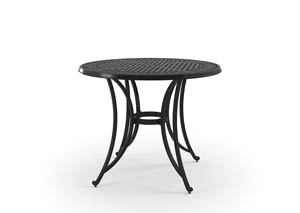 Image for Burnella Brown Round Bar Table