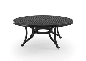 Burnella Brown Round Cocktail Table