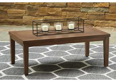 Paradise Trail Brown Coffee Table