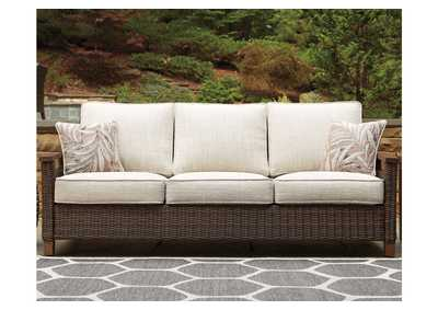 Paradise Trail Brown Sofa w/Cushion