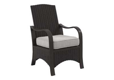 Image for Marsh Creek Brown Chair with Cushion (Set of 2)