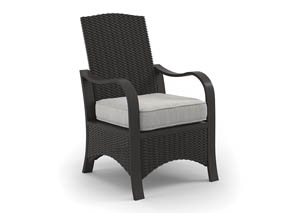 Marsh Creek Brown Chair w/Cushion (2/CN)