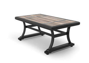Marsh Creek Brown Rectangular Cocktail Table