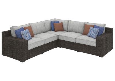 Alta Grande Beige/Brown Sectional