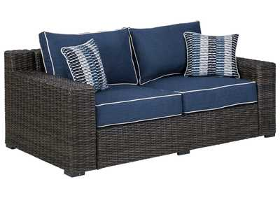 Image for Grasson Lane Loveseat with Cushion