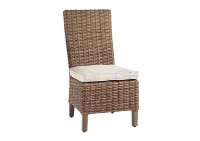 Image for Beachcroft Beige Side Chair with Cushion (Set of 2)