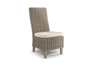 Beachcroft Beige Side Chair w/Cushion (Set of 2)