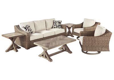 Beachcroft Beige 6 Piece Chat Set