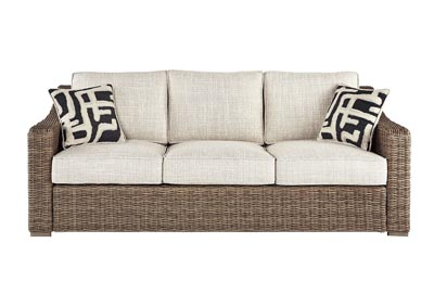 Image for Beachcroft Beige Sofa with Cushion