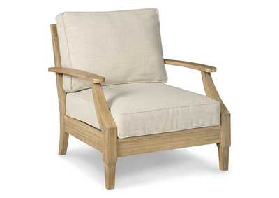 Clare View Beige Lounge Chair w/Cushion