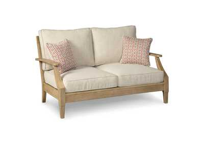 Image for Clare View Beige Loveseat w/Cushion