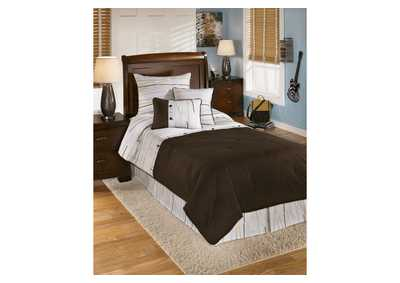 Stickly Multi Twin Top of Bed Set