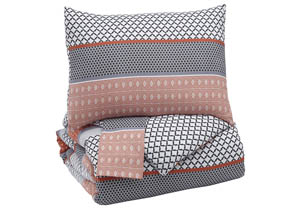 Anjanette Multi King Comforter Set