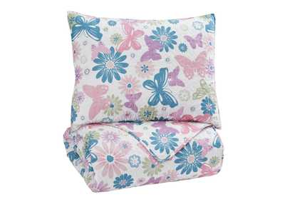Jobeth Multi Twin Quilt Set