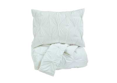 Image for Rimy White Queen Comforter Set