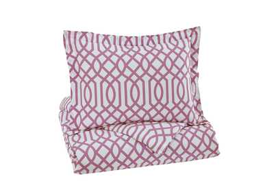 Image for Loomis Lavender Twin Comforter Set