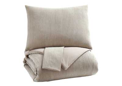 Image for Mayda Beige King Comforter Set