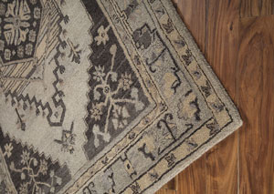 Dallan Gray Large Rug