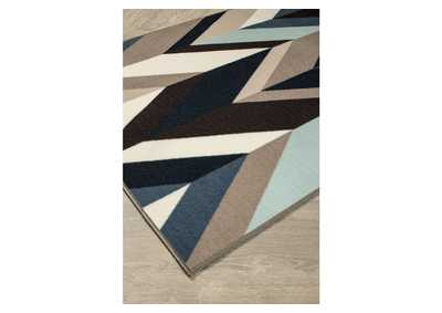 Image for Keelia Blue/Brown/Gray Rug