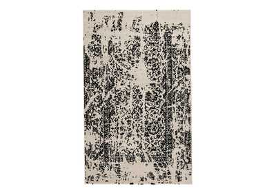 Jag Black/White Medium Rug