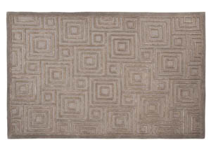 Megabyte Gray Large Rug