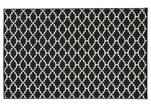 Nathanael Black/White Medium Rug