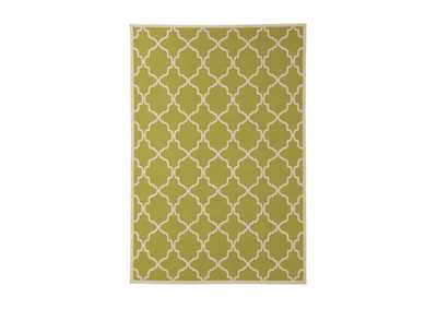 Kerry Green/Cream Large Rug