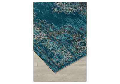 Image for Moore Blue/Teal Medium Rug