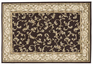 Jameel Brown/Gold Large Rug