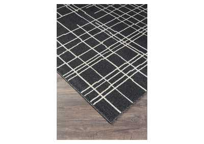 Image for Jai Black/White Medium Rug