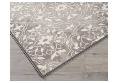 Jerilyn Gray/White Medium Rug