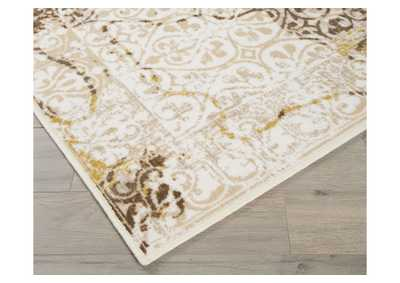 Image for Jariath Ivory/Brown Medium Rug
