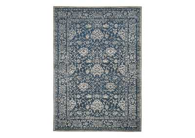 "Image for Maxton Blue/Gray 5'3"" x 7'6"" Rug"