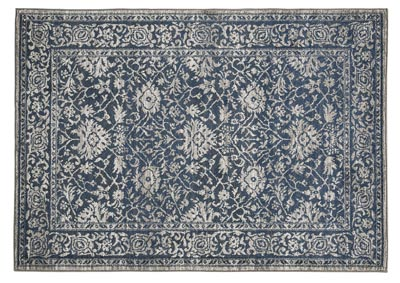 Maxton Blue/Gray Large Rug